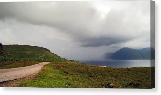 Squall Canvas Print by Steve Watson