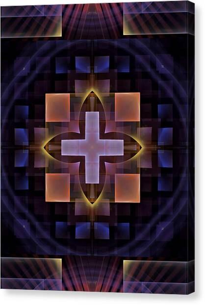 Bachelorette Canvas Print - Squares-1-left-or-right-panelbb by Bill Campitelle
