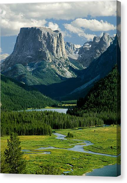 Squaretop Mountain 3 Canvas Print