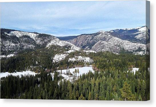 Squaw Valley Canvas Print by Phil Gorham