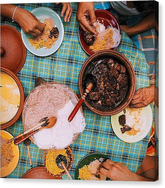Tuna Canvas Print - #srilanka Preview Part 2. Tuna Curry by David  Hagerman
