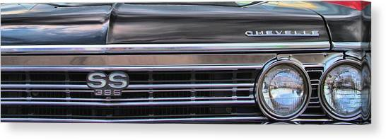 Chevelle Canvas Print - Ss 396 by Dan Sproul