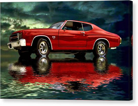 Chevelle 454 Canvas Print