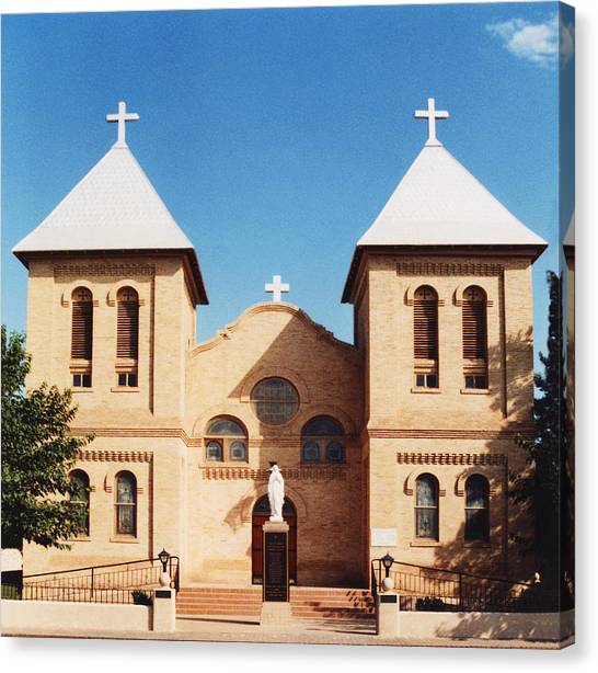 St. Albino Church Canvas Print