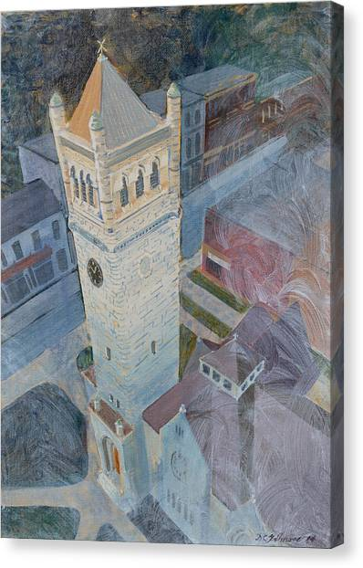 St Andrews Bell Tower Canvas Print
