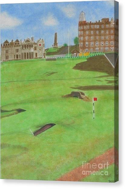 St. Andrews Canvas Print