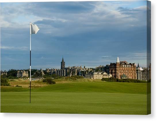 St Andrews Golf Canvas Print