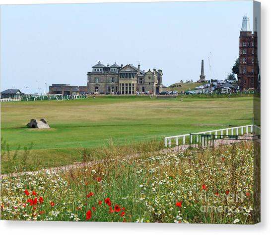 St Andrews Royal And Ancient Golf Course Canvas Print