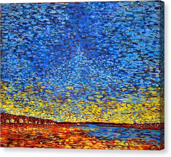 St. Andrews Sunset Canvas Print