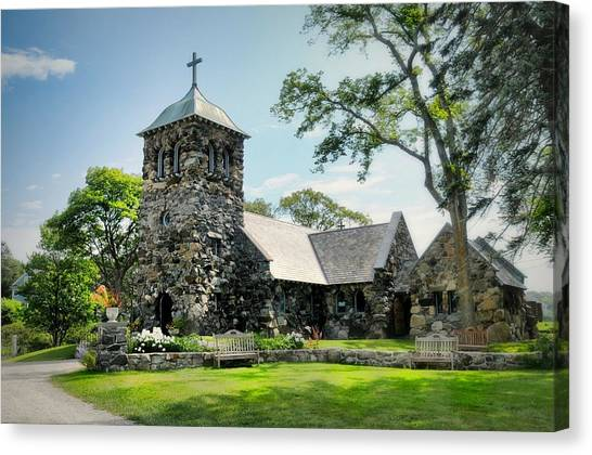 St. Ann's Episcopal Church Canvas Print