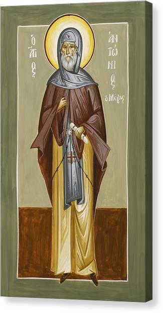 Canvas Print - St Anthony by Julia Bridget Hayes