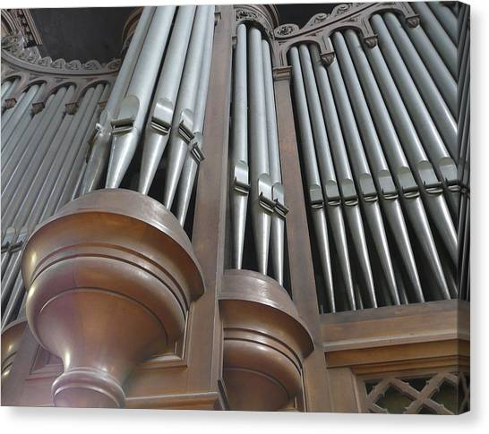 St Augustin Organ Canvas Print