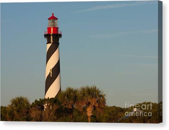 St. Augustine Lighthouse #3 Canvas Print