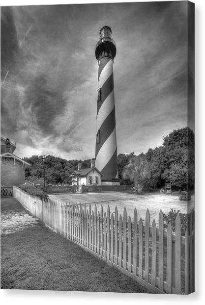 St Augustine Lighthouse Canvas Print
