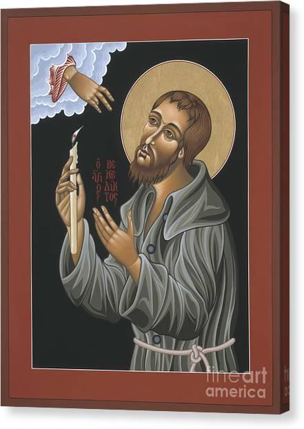 St. Benedict Joseph Labre 062 Canvas Print