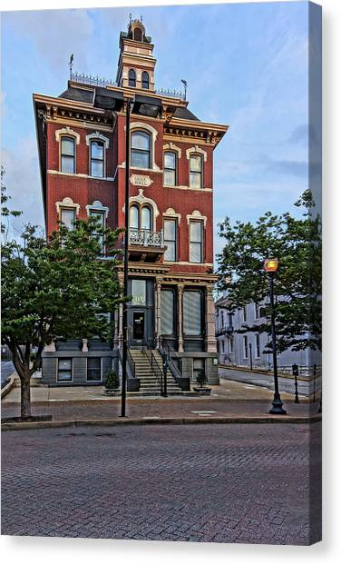 St. Charles Odd Fellows Hall Built In 1878 Dsc00810  Canvas Print