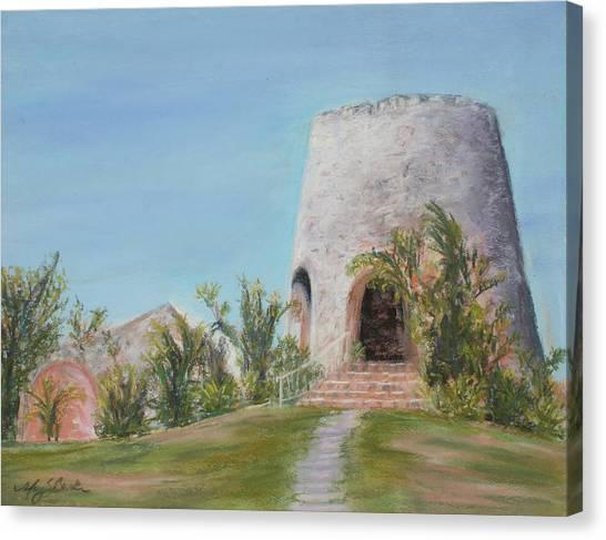 St. Croix Sugar Mill Canvas Print