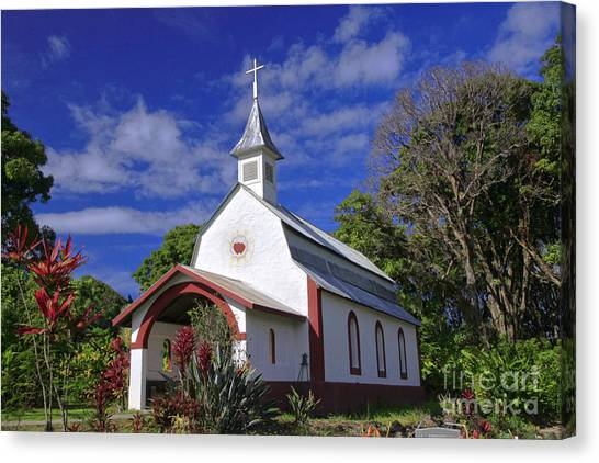 St Gabriel's Catholic Church Canvas Print