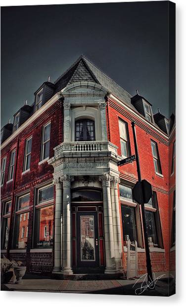 Street Scenes Canvas Print - St. George Hotel by Brian Lea