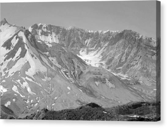 St. Helen's Crater Canvas Print