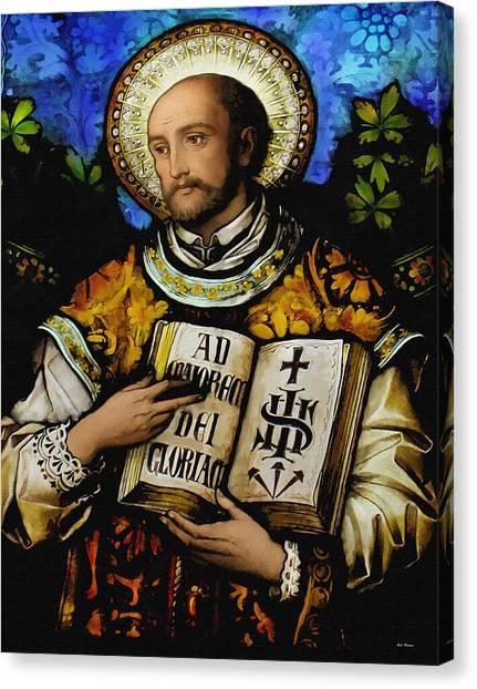 St. Ignacius Of Loyola Canvas Print