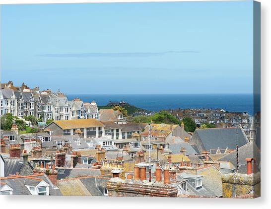 St Ives Canvas Print - St Ives by Caphoto