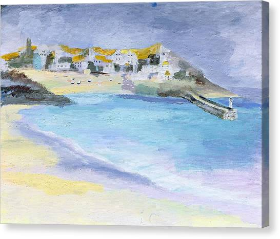 St Ives Canvas Print - St Ives, Cornwall by Sophia Elliot