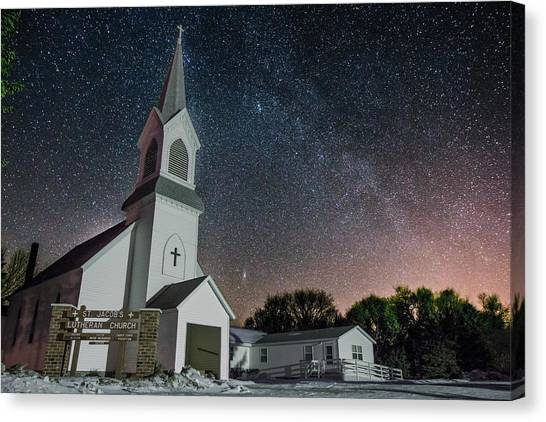Andromeda Canvas Print - St. Jacob's by Aaron J Groen