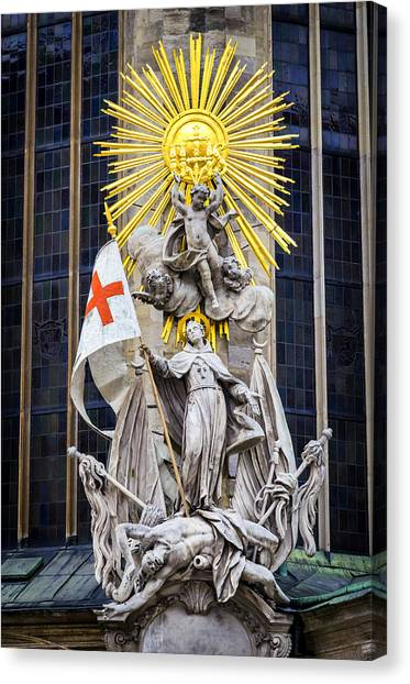 St. John Of Capistrano In Vienna Canvas Print