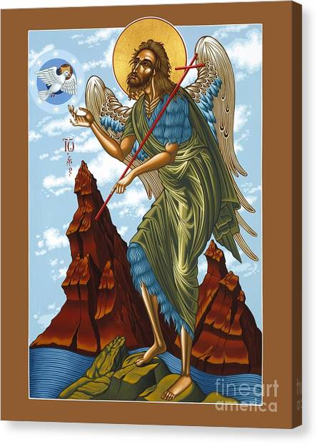 St. John The Forerunner Also The Baptist 082 Canvas Print