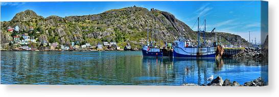 St. John's Battery Panorama Canvas Print