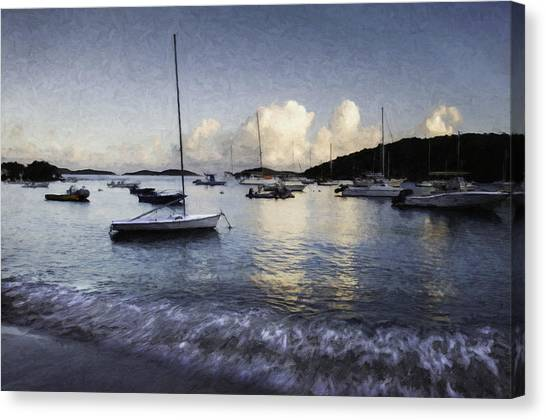 St. John's Bay Canvas Print