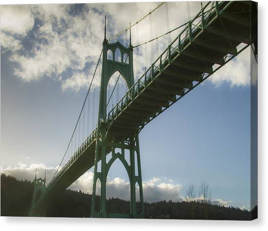 St Johns Bridge Canvas Print