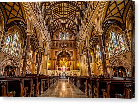 St. Joseph Church Canvas Print