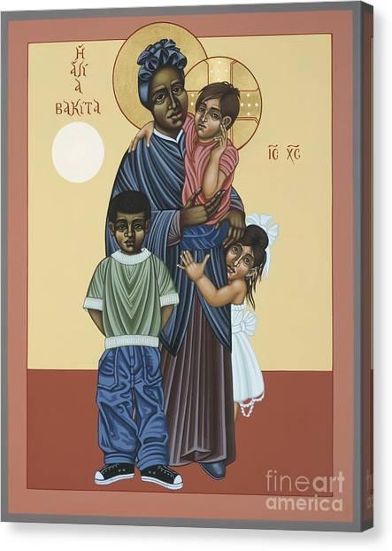 St. Josephine Bakhita Universal Sister 095 Canvas Print