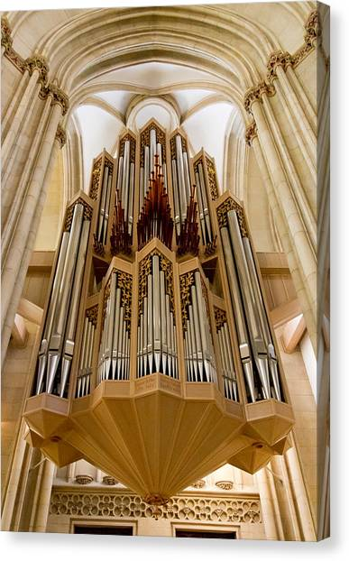 St Lambertus Organ Canvas Print