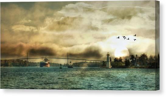 St. Lawrence Seaway Canvas Print