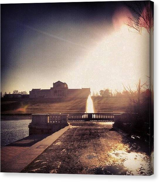 Skylines Canvas Print - St. Louis Art Museum by Genevieve Esson