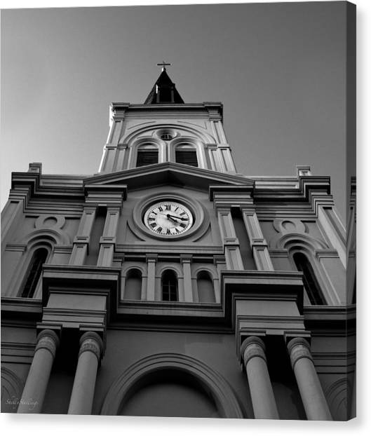 St. Louis Cathedral Perspective Canvas Print