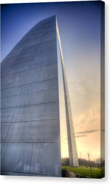 St. Louis-gateway Arch Canvas Print