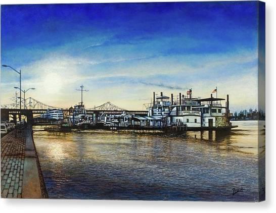 St. Louis Riverfront Canvas Print