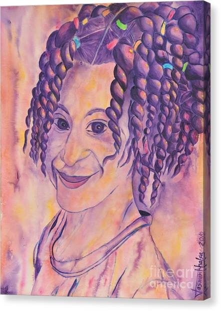 St. Lucian Girl Canvas Print