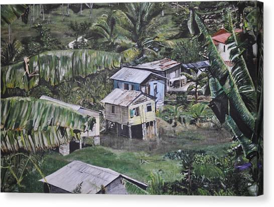 St Lucian Spot Canvas Print