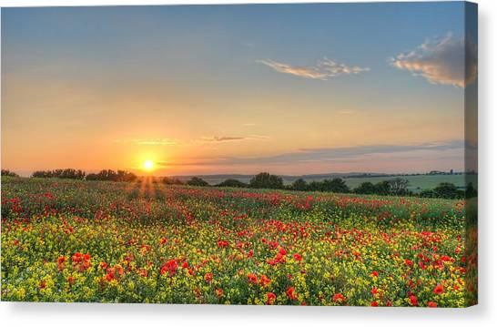 St Margarets Sunset Canvas Print