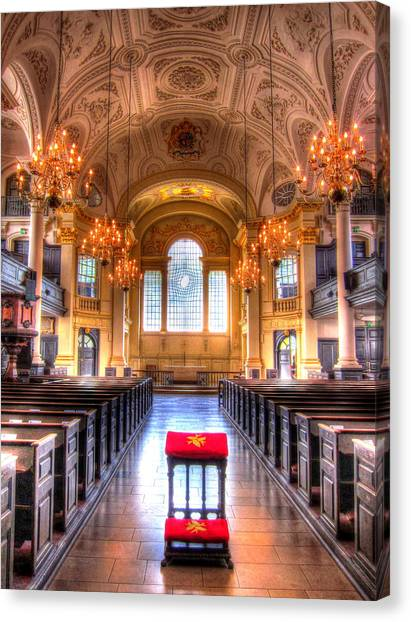 St Martin In The Fields Canvas Print