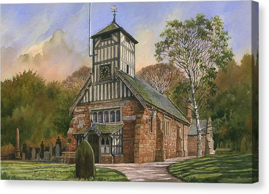 St. Mary And All Saints Canvas Print by Anthony Forster