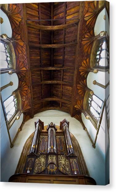 St Michael's Church Framlingham Canvas Print