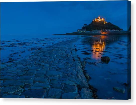 St Michaels Mount Canvas Print by David Ross