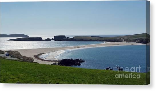 St Ninian's Isle Shetland Canvas Print