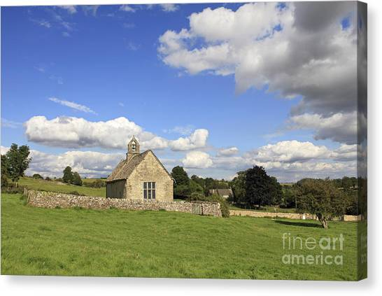 St Oswalds Chapel Oxfordshire Canvas Print